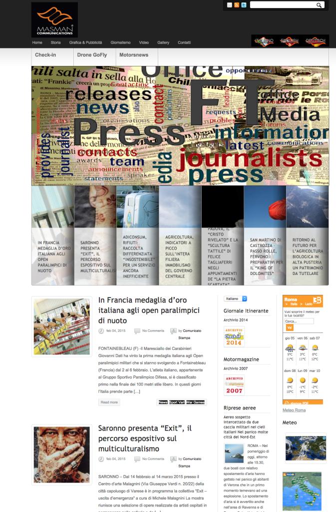 Masman online press
